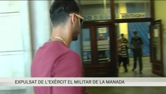 """L'exèrcit expulsa un dels condemnats de """"La Manada"""""""