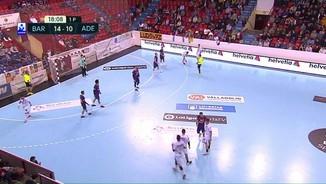 Handbol Copa Asobal: Barça-Abanca Ademar 1a. semifinal