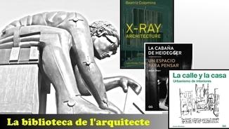 Beatriz Colomina, Adam Sharr i Xavier Monteys: arquitectura en tres fases