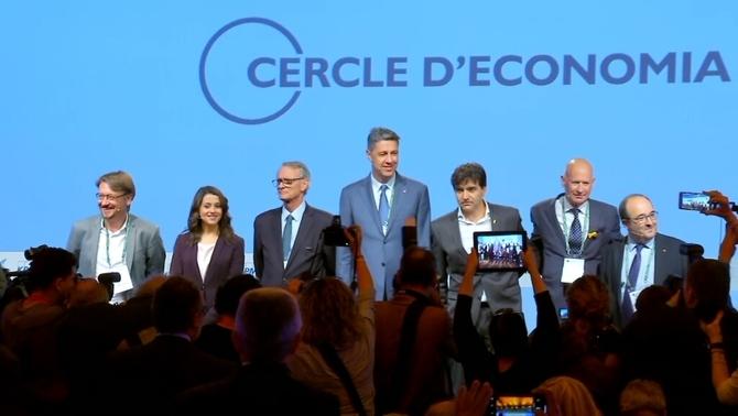 La resposta dels grups parlamentaris a la proposta de diàleg del Cercle d'Economia