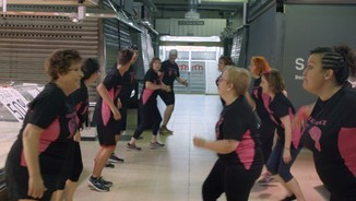 Classes de zumba al mercat del Carmel