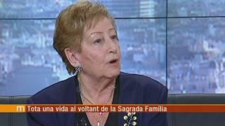Maria Plana, tota una vida al voltant de la Sagrada Família