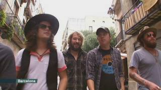 The Wild Feathers preparen concert a Bikini