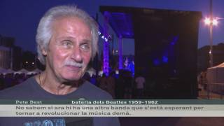 Pete Best al Festival Barcelona Beatles Weekend