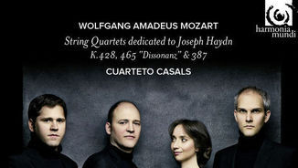 """Joan Guinjoan. Concerto for percussion"" i ""Mozart. String Quartets dedicated to Haydn"""
