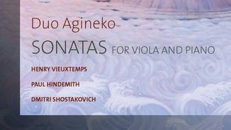 Duo Agineko. Sonatas for viola and piano. Et'cetera.