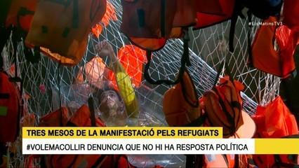 """Volem acollir"" reclama solucions polítiques: entrevistem Rubén Wagensberg i Oriol Amorós"