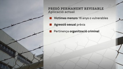Ampliació de la presó permanent revisable