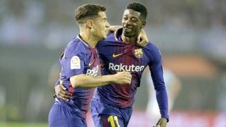 """""""El tercer temps"""": Qui ha de ser titular a la Champions, Coutinho o Dembélé?"""