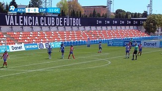 Danone Nations Cup: At. Madrid-Espanyol Final nacional femenina