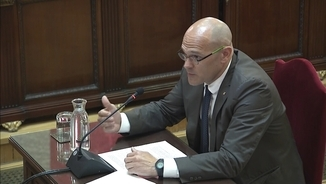 "Romeva: ""Today it is us, but tomorrow it could be anyone"""