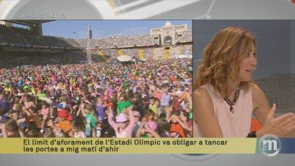 Els Matins 27/10/2014: Entrevista a Toni Roy, cap de la Festa dels Súpers 2014