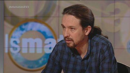 "Pablo Iglesias: ""No reconeixem Mas per parlar de sobirania"""