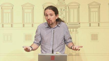Declaracions després reunió Puigdemont-Iglesias