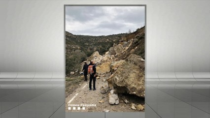 Gran esllavissada al Pallars Jussà