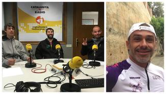 """Pep Vega: """"Era Val d'Aran ei un paradís entara practica deth ciclisme en quinsevolh modalitat"""""""