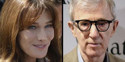 Carla Bruni està disposada a fer d'actriu en una pel·lícula de Woody Allen