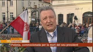Polònia, commocionada per la mort del seu president