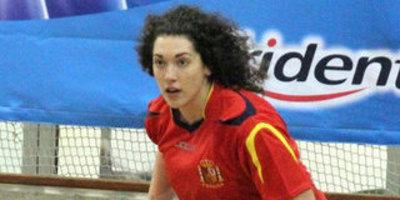 Anna Casarramona, jugadora de la selecció espanyola. (Foto: hockeyasturias.com)