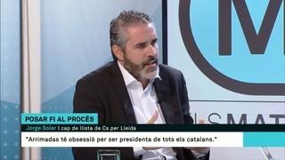 """Jorge Soler (Cs): """"Nosaltres sortim per posar fi a l'independentisme"""""""