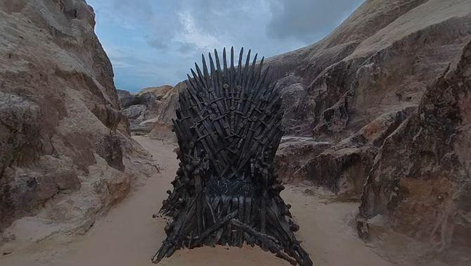 """""""Joc de trons"""" desafia els fans i amaga 6 trons de ferro per tot el món"""