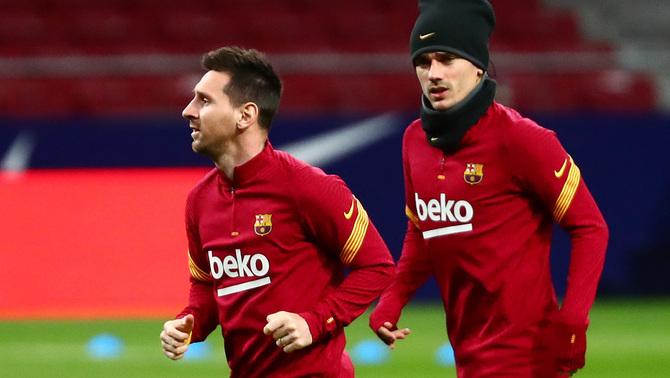 """Griezmann: """"Messi em va dir que li va fer mal que rebutgés l'oferta del Barça"""""""