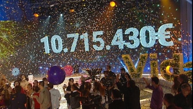 La Marató bat el rècord històric: Més de 10 milions per lluitar contra el càncer