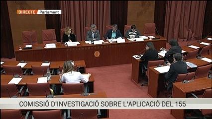 Comissió d'investigació del 155 al Parlament, sense la participació dels consellers empresonats