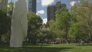 Jaume Plensa a Manhattan