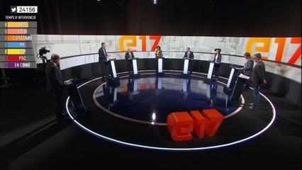 El debat definitiu del 21D: els candidats s'enfronten abans de les eleccions