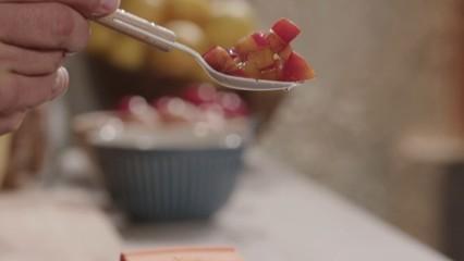 Crema de prunes borratxes