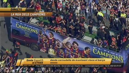 Rua de la Champions: primera part