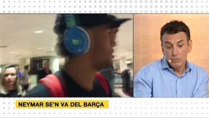 Neymar canvia el Barça pel PSG