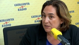 "Ada Colau: ""Si no és possible un govern d'esquerres, governaré sola"""