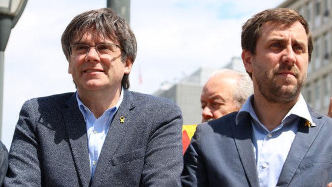 La JEC no accepta l'acatament de Puigdemont i Comín i deixa vacants els seus escons