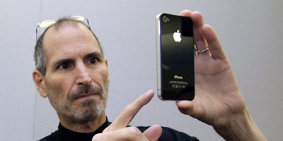 El president d'Apple, Steve Jobs (Foto: EFE)