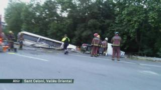 Accidents de camions a l'AP7