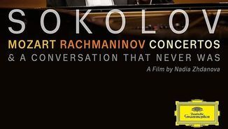 Sokolov. Mozart, Rachmaninov Concertos. A conversations that never was. Deutsche Grammophon