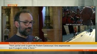 """Benet Salellas: """"La CUP vol escenaris de claredat"""""""