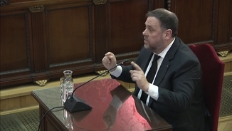 "Junqueras: ""The purpose of violence against voters on 1-O was to create tension"""