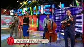 Saphie Wells & The Swing Cats, a Divendres