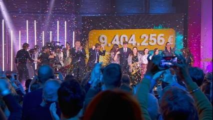 9.404.256 euros, el marcador final de La Marató 2019 dedicada a les malalties minoritàries