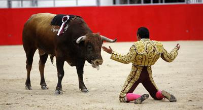 El PSC donarà llibertat de vot al Parlament en la prohibició de les corrides de toros a Catalunya