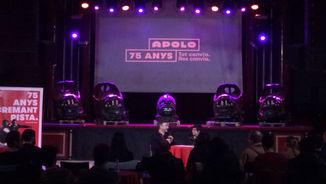 Com celebrarà la sala Apolo els seus 75 anys?