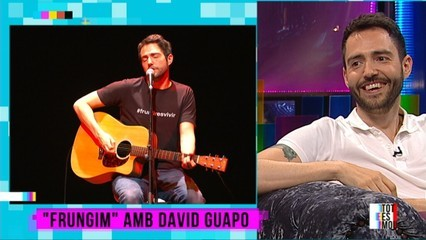 "David Guapo, el rei del ""frungiment"""