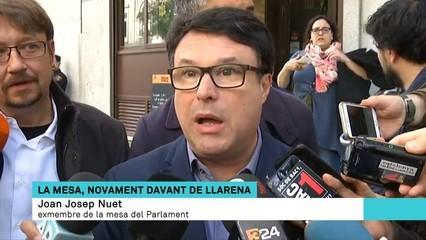 """Joan Josep Nuet: """"Podem haver comès errors, però cap mereix una persecució criminal"""""""