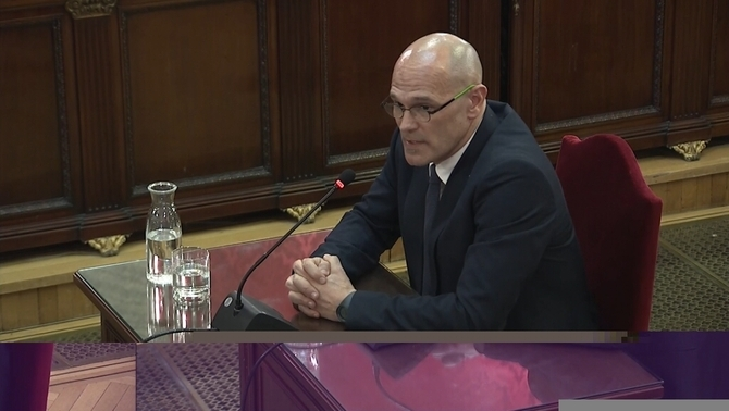 "Romeva: ""I did not quit because what we did is lawful, legitimate and even legal"""