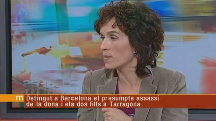 Detingut el suposat assassí de la dona i els dos fills a Tarragona