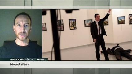 La mort a trets de l'ambaixador rus a Turquia posa a prova les relacions diplomàtiques