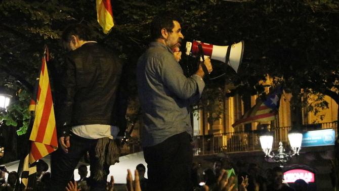 Presó sense fiança per als presidents de l'ANC i Òmnium, Jordi Sànchez i Jordi Cuixart